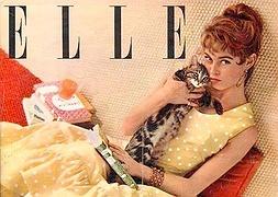Обкладинка журналу  «Elle» з неповторною Бріжіт Бардо